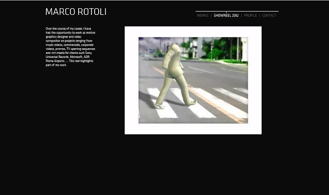 *UI界面非常完善的個人作品網:Marco Rotoli Web Site 3