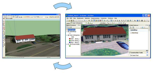How to Create 3D Models in SketchUp and Use Them in ArcGIS 10