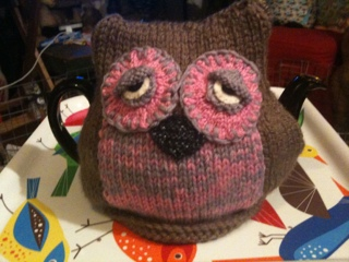 FREE KNITTING PATTERN OWL TEA COSY - VERY SIMPLE FREE KNITTING PATTERNS