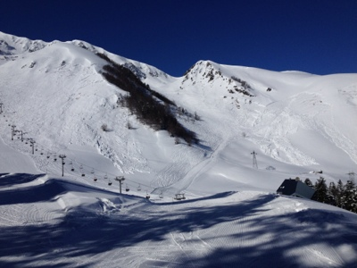 Pyrenees Luchon French village diaries skiing superbagneres