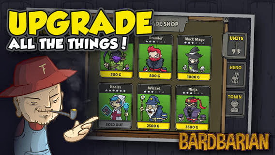 Bardbarian v1.1 for iPhone/iPad
