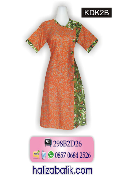 grosir batik pekalongan, Dress Batik, Dress Modern, Dress Batik Terbaru