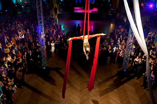 Aerialist for hire, rent truss, lighting, staging, party planning by DC Party Rentals +1 202 436 5114