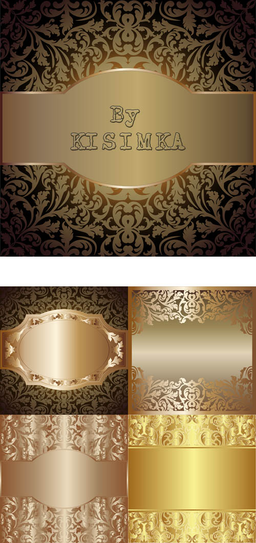 Stock: Background with floral decoration