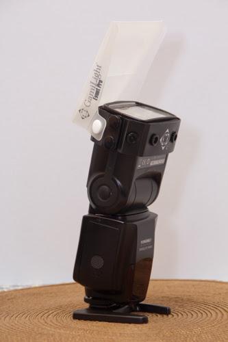 speedlight mengunakan event pro diffuser