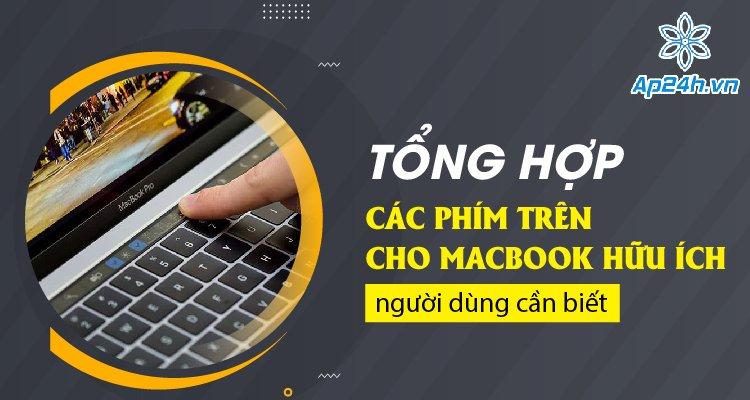 Các phím tắt cho MacBook