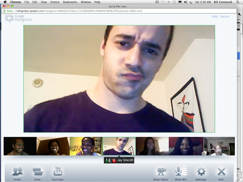 Google+ Hangout Video Chat