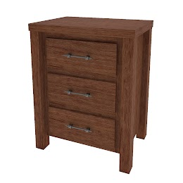 Ashton Nightstand with Drawers