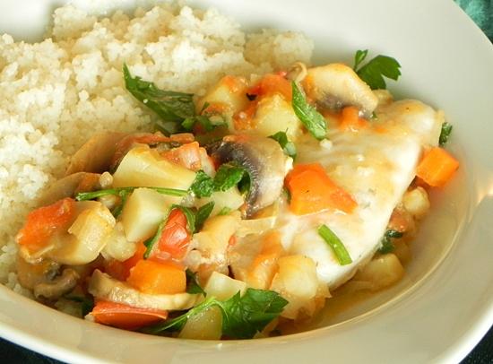 Рыба с овощами. Аффтар: КонАццкий Syndrom