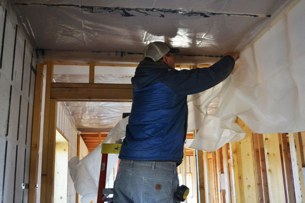 Drywall Moisture Barrier : Vapor barrier ana white woodworking projects