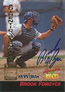 1994 Signature Rookies Brook Fordyce