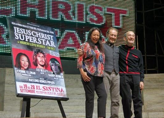 Prima mondiale a Roma di Jesus Christ Superstar con la reunion storica del cast