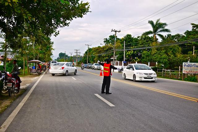 Тайские парковщики