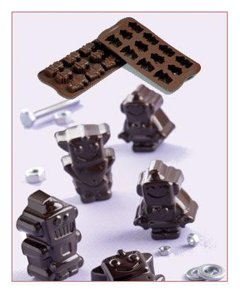 Cetakan Coklat SCG18-Robochoc