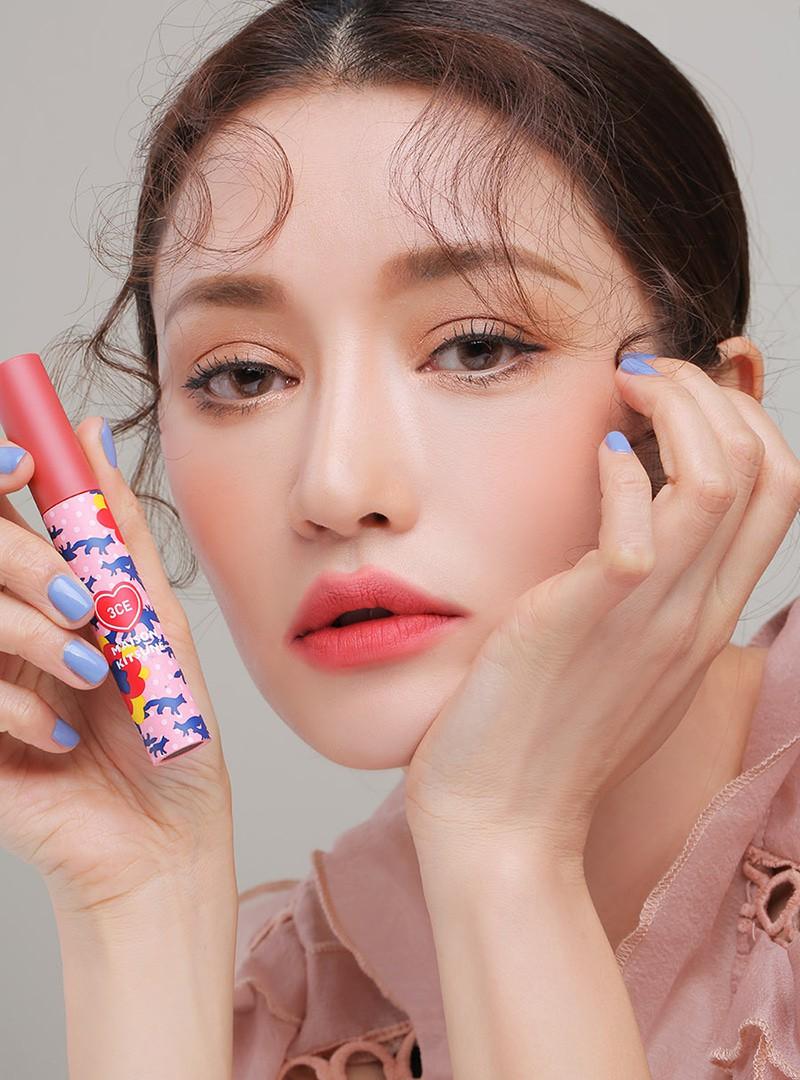 3CE Maison Kitsune Velvet Lip Tint Rambling Rose
