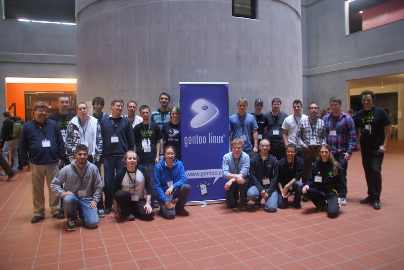 Gentoo Group Photo