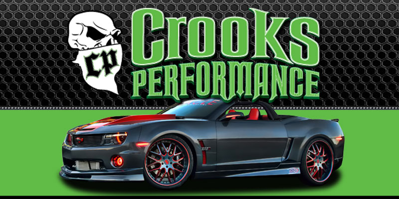 Auto Parts Shakopee MN Crooks Performance Logo