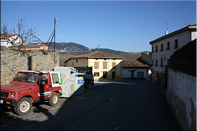 Calle Subida del Frontón / Pelotalekuko Igoera kalea