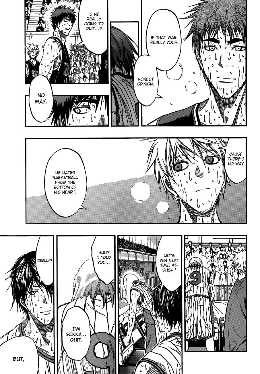 Kuroko no Basket Manga Chapter 169 - Image 09