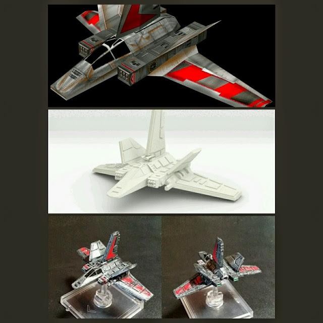 XG-1 Star Wing de Mel Miniatures