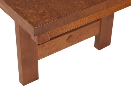 "94"" x 42"" Groveland Table in Pecan Quarter Sawn Oak"