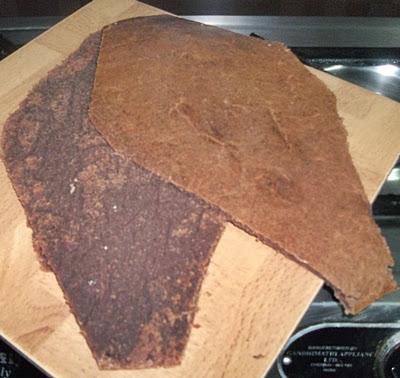 chocolate Coffin Cake for Halloween recipe