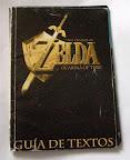 The Legend Of Zelda - Ocarina of Time - Guía de textos oficial portada