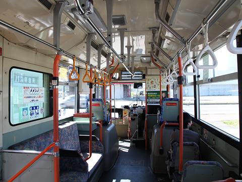 宗谷バス 1系統 ・639 三菱エアロスターノンステップ 車内