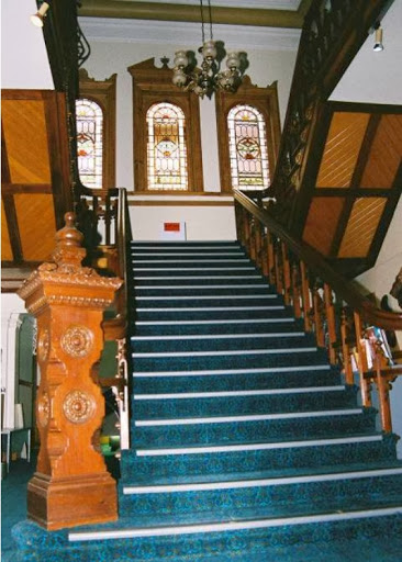 Carclew, main stairs by RM Stone