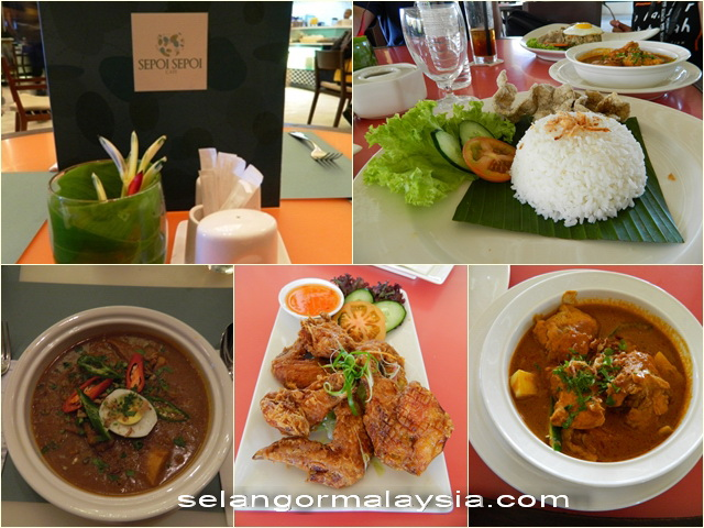 Menu Sepoi Sepoi Cafe Sepang Gold Coast