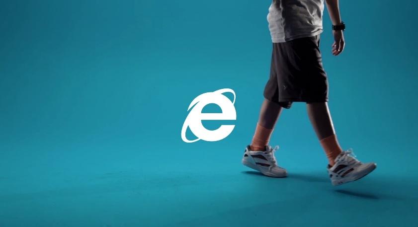 *Microsoft Internet Explorer 10 最新廣告:回朔90年代流行玩意! 6