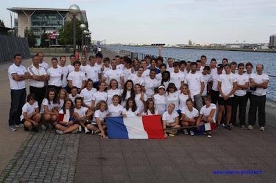 Match France-Angleterre cadets 2011 L'équipe française au grand complet.