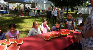 Aqua Fest watermelon eating contest 2016