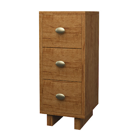 Aurora File Cabinet in Como Maple
