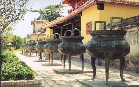 Cửu Đỉnh ở Huế - Một bức tranh kiệt tác của Việt Nam