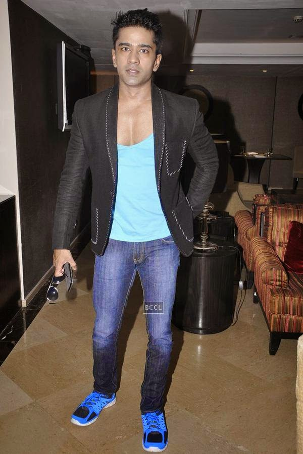 Vinit Kakkar during the launch of music album The Victorian Secrets, in Mumbai, on July 21, 2014. (Pic: Viral Bhayani)