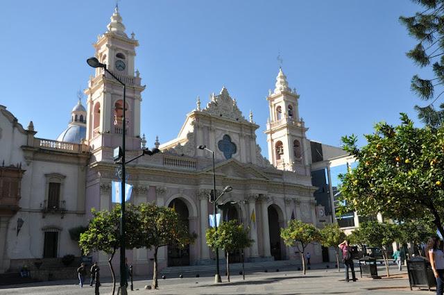 Salta nord: la cathédrale, Salta