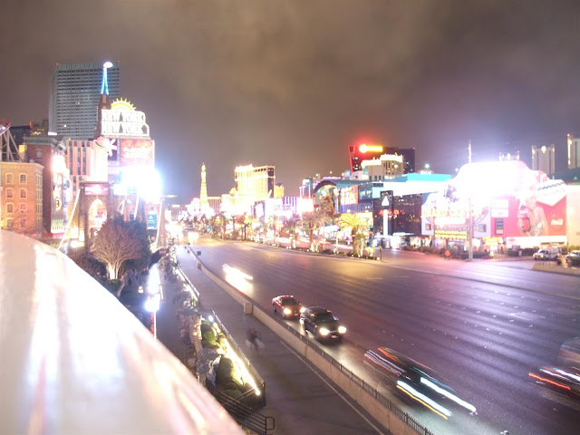 las vegas strip at night, cars, lights, casino, night life