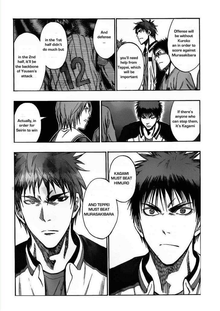 Kuroko no Basket Manga Chapter 150 - Image 12