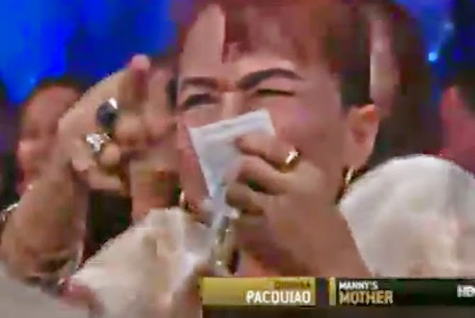 Manny Pacquiao's Mom caught on Cam Casting Spells – Video