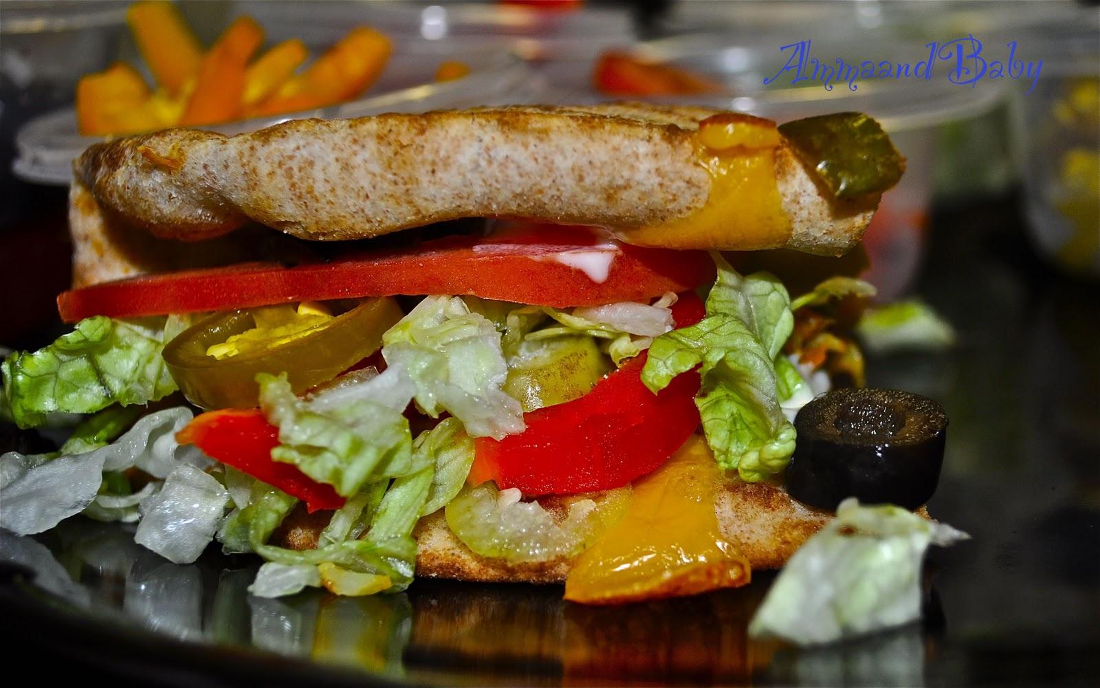 ammaandbaby subway sandwich re created