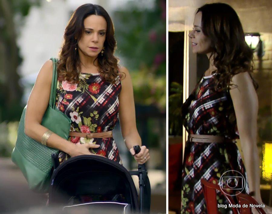 moda da novela Em Família - vestido da Juliana dia 6 de maio