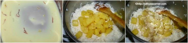 Pineapple Sweet Rice recipe