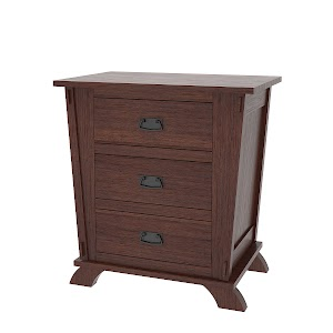 baroque nightstand with drawers