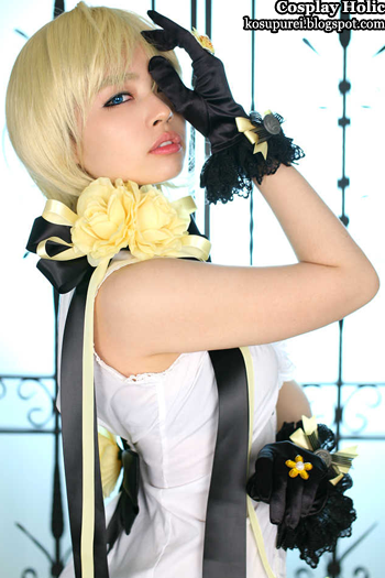 vocaloid 2 cosplay - kagamine rin