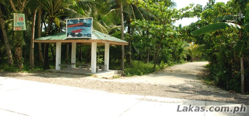 Waiting shed to Minasangay Island