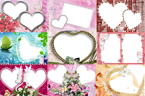 Love Frame Collections Free Download Photo Frames