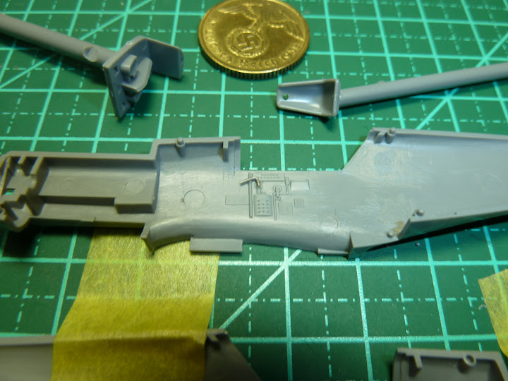 "Messerschmmit Bf 109 E-3 - Major Hans ""Assi"" Hahn P1030879"