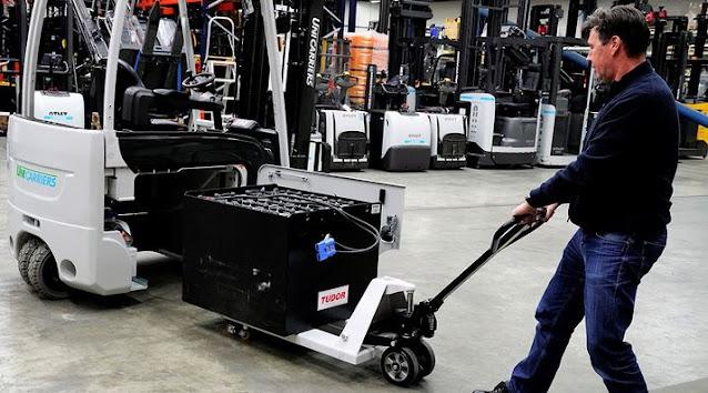 Xe nâng điện Unicarriers