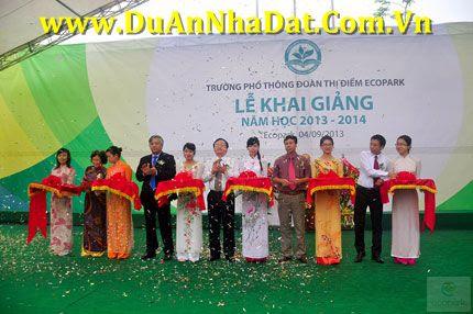 Lễ khai giảng năm học mới của Trường Đoàn Thị Điểm Ecopark